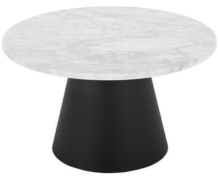 Kulatý mramorový konferenční stolek Liam