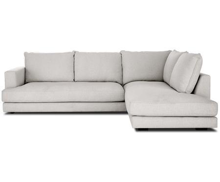 Canapé d'angle gris Tribeca