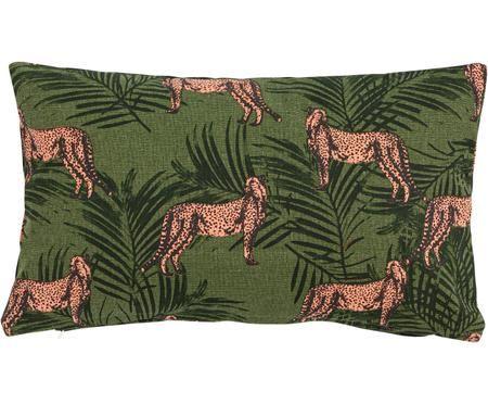 Cuscino rosa con imbottitura Panther