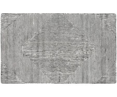 Mały ręcznie tuftowany dywan z wiskozy Mia