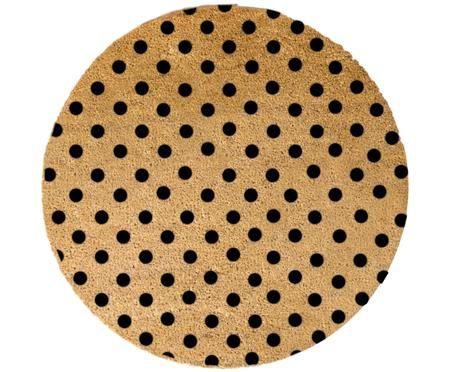 Zerbino in cocco rotondo Dots