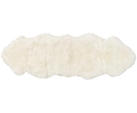 Tapis en peau de mouton lisse Oslo