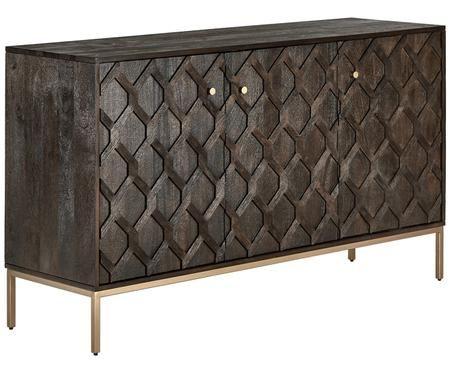 Massief houten dressoir Clive