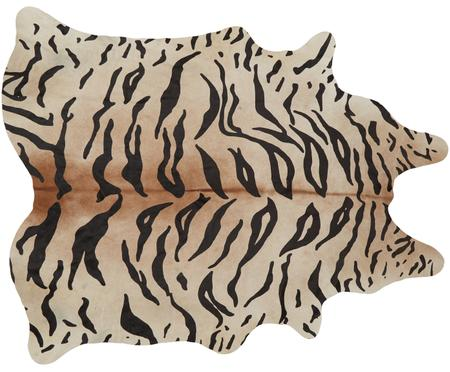 Koberec z hovädzej kože Tiger