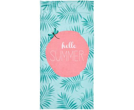 Strandtuch Case Hello Summer