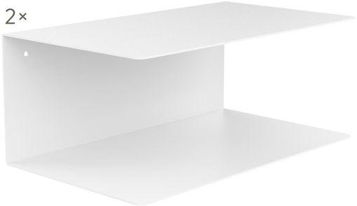 Wand-Nachttisch aus Metall Neptun, 2 Stück