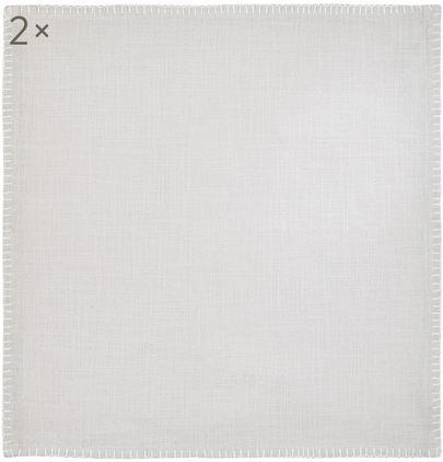Baumwoll-Servietten Finca, 2 Stück