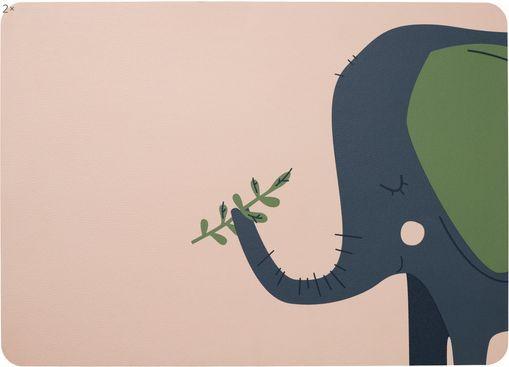 Tischset Leo Emma Elefant, 2 Stück