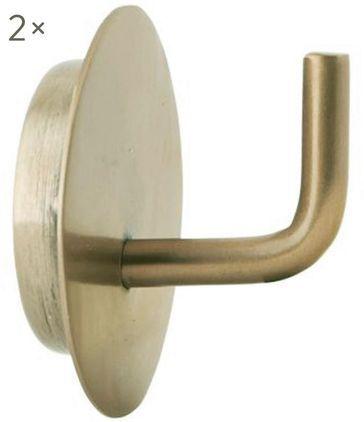 Metall-Kleiderhaken Lema, 2 Stück