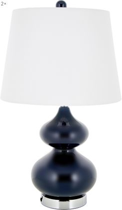 Große Tischlampen Felicitas, 2 Stück
