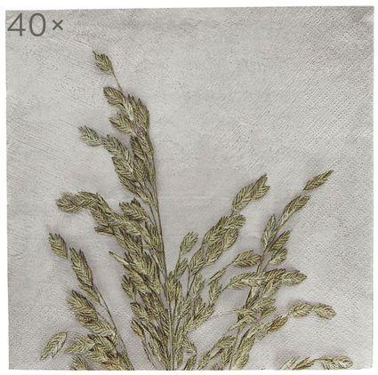 Papier-Servietten Grass, 40 Stück