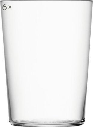 Filigrane Wassergläser Gio aus dünnem Glas, 6er-Set