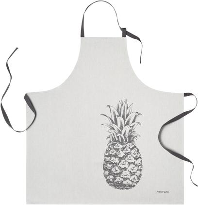 Delantal de algodón Ananas