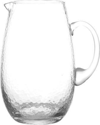 Mundgeblasener Krug Hammered, 2 L