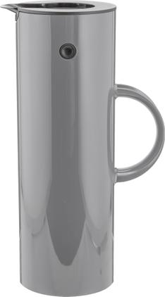 Isolierkanne EM77 in Grau glänzend, 1 L