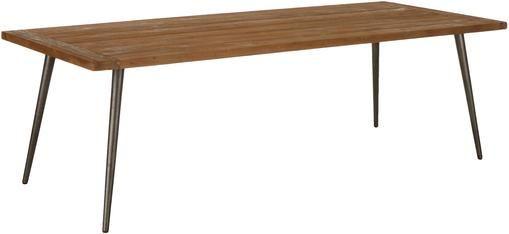 Esstisch Kapal mit Massivholzplatte