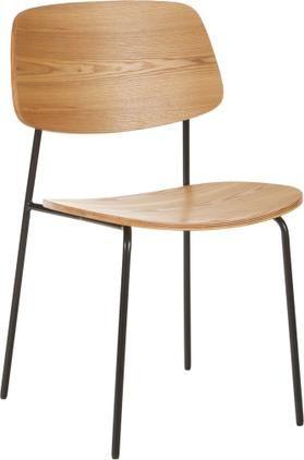 Drevená stolička Nadja, 2 ks