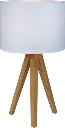 Tischlampe Kullen aus Eichenholz