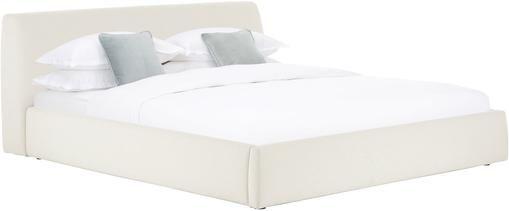 Čalouněná postel s úložným prostorem Cloud