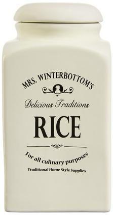 Aufbewahrungsdose Mrs Winterbottoms Rice, Ø 11 x H 21 cm