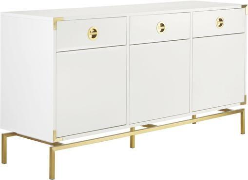 Sideboard Elegance in Weiß
