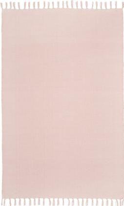 Ručne tkaný tenký bavlnený koberec Agneta