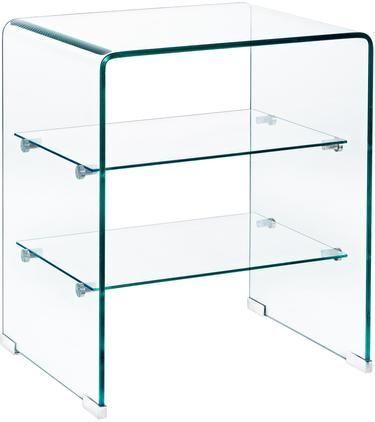Glas-Nachttisch Glasse