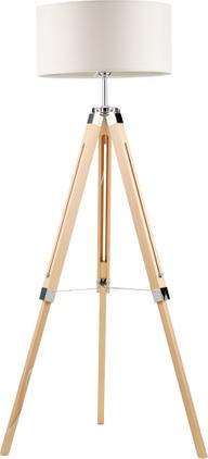 Tripod Stehlampe Josey aus Holz
