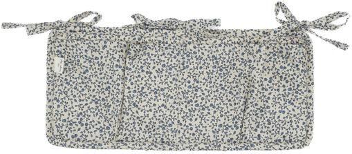 Betttasche Quaby aus Bio-Baumwollsatin