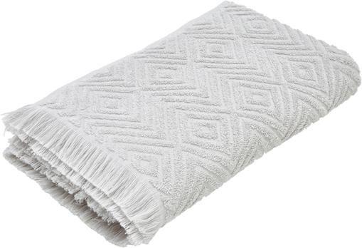Handtuch Jacqui in verschiedenen Größen, mit Hoch-Tief-Muster