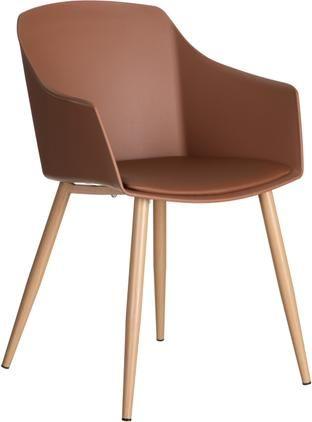 Krzesło z tworzywa sztucznego Jimena