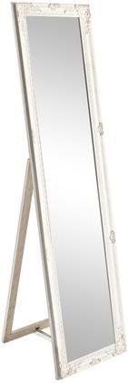 Standspiegel Miro mit weißem Rahmen