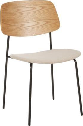 Drevená čalúnená stolička Nadja, 2 ks
