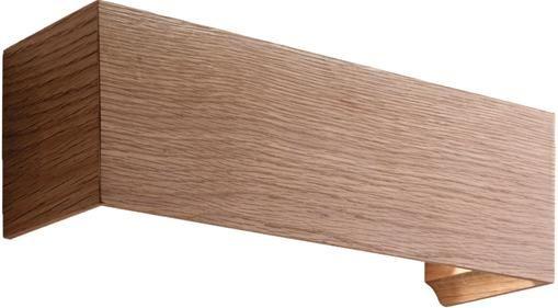 LED-Wandleuchte Badia aus Holz