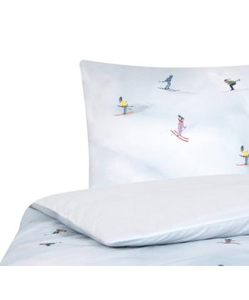 Designer Baumwollperkal-Bettwäsche Ski von Kera Till
