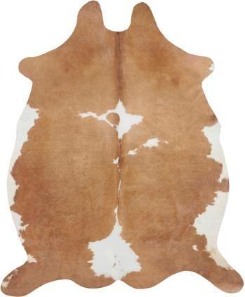 Kuhfell-Teppich Chester aus Kunstfell