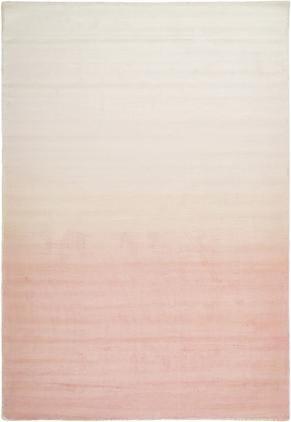 Ručne tkaný koberec z viskózy s farebným gradientom Alana