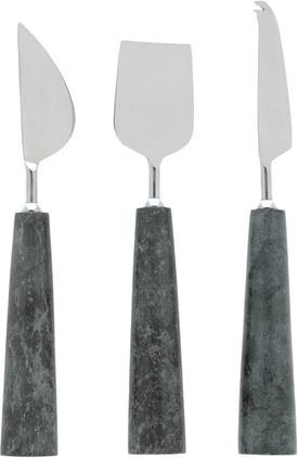 Marmor-Käsemesser-Set Bluma, 3er-Set