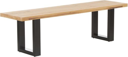 Sitzbank Oliver aus Eichenholz