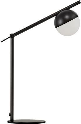 Schreibtischlampe Contina mit Opalglas