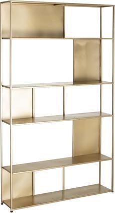 Metall-Standregal Talme in Goldfarben
