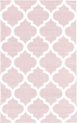 Ručne tkaný tenký bavlnený koberec Amira