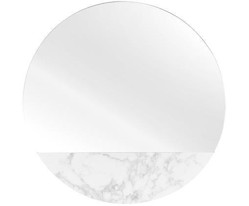Okrúhle nástenné zrkadlo s mramorovým vzhľadom Stockholm