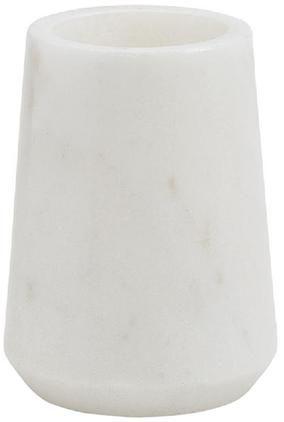 Marmor-Zahnputzbecher Lux