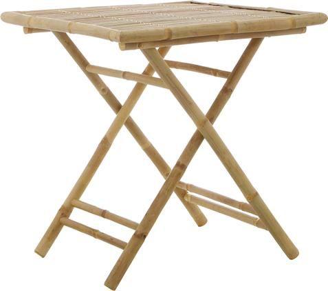 Klappbarer Gartentisch Tropical aus Bambus