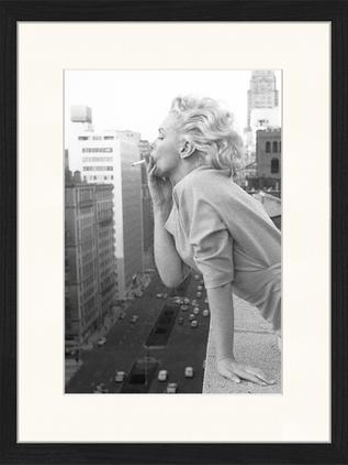 Gerahmter Digitaldruck Marilyn At The Ambassador Hotel New York