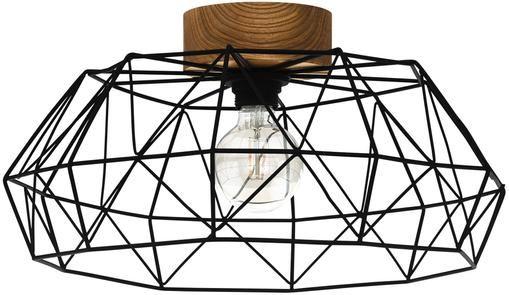 Deckenleuchte Padstow mit Holz-Dekor