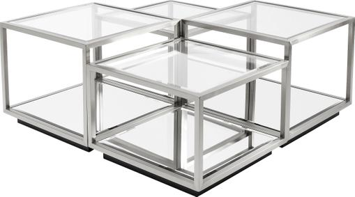 Set de mesas de centro Luigi, 4uds.