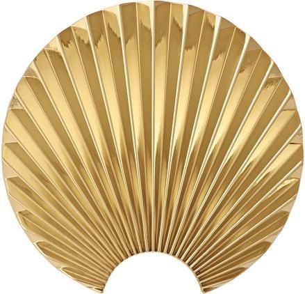 Wandhaken Concha aus Messing