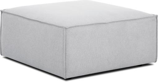 Sofa-Hocker Lennon in Hellgrau